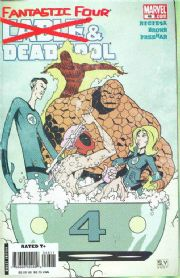 Cable Deadpool #46 Fantastic Four